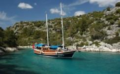 4 dias en Barco desde Olympos a Fethiye