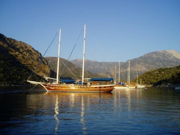 Boat Cruise from Fethiye to Marmaris